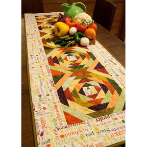 Eat Your Veggies Table Runner PDF Pattern