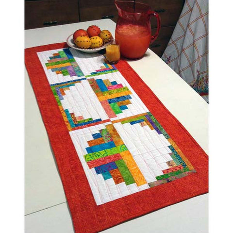 Citrus and Berry Table Runner