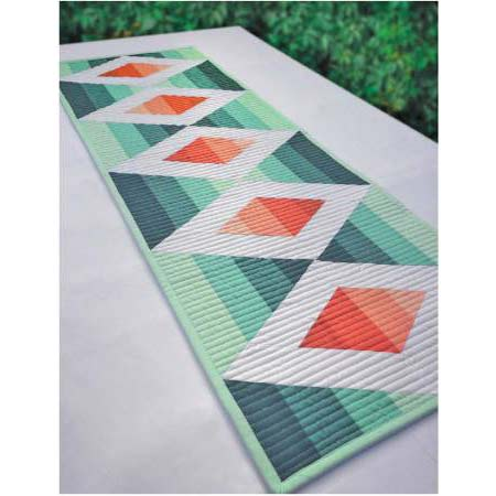 Aztec Diamond Table Runner PDF Pattern