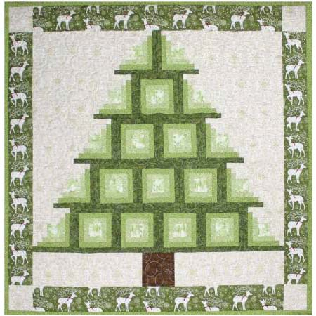 Log Cabin Tree
