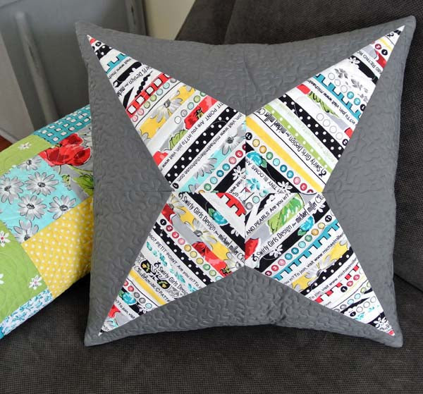 Selvage Star Pillow PDF Pattern