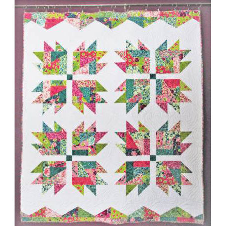 Scrap Crazy Bear Paw Quilt