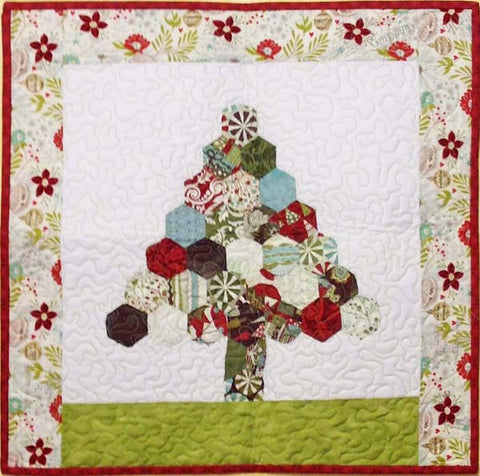 Happy Hexies Tree Wall Quilt