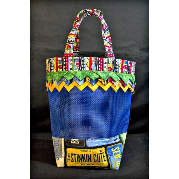 Small Prairie Point Mesh Tote