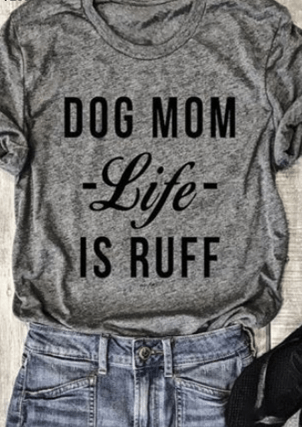 Hund Mom Brief T-Shirt