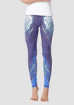 Women's Printed Fashion Sports Yoga Pants-Printed Leggings-2ubest.com-BluePurpleWhite-S-2UBest.com