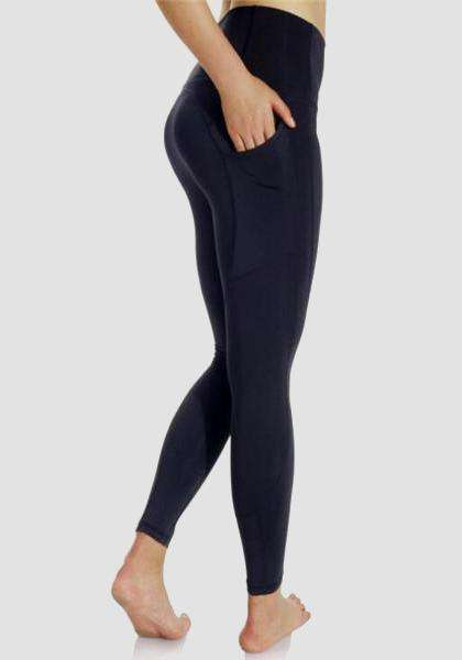 Gym Athletic Skinny Fitness Yoga Pants-Long Leggings-2UBest.com-Black-L-Long-2UBest.com