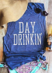 Day Drinkin 'Casual Letter Tank