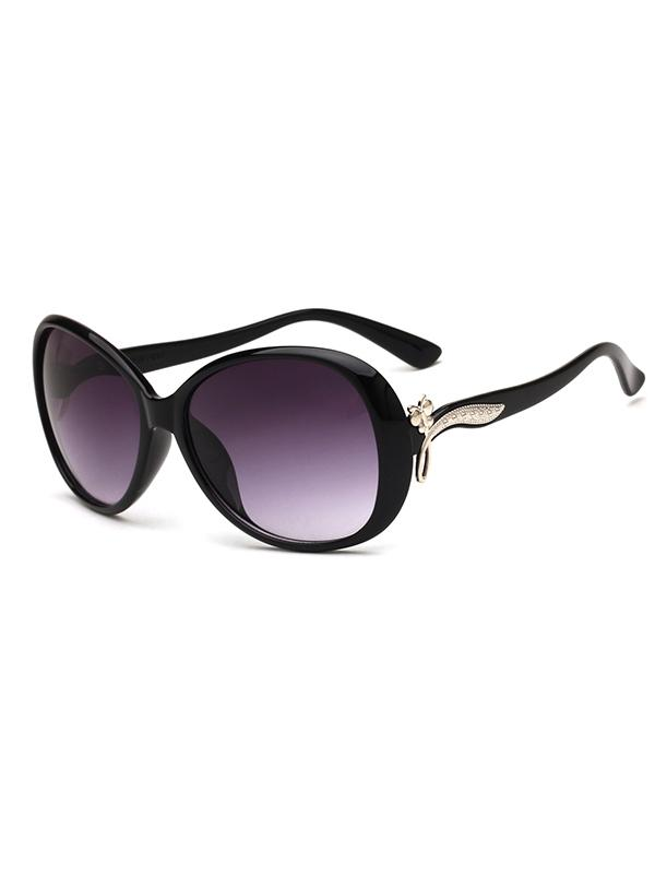 Stylish Round Shape PC Sunglasses