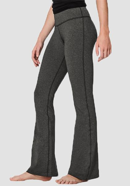 Women's Boot Leg Yoga Pant-Long Leggings-2ubest.com-Charcoal-S-2UBest.com