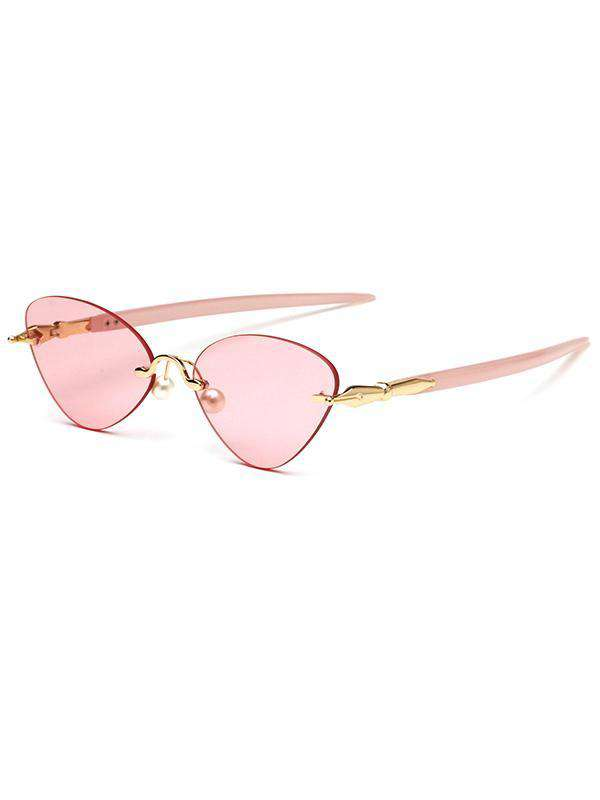 Fashion Oversized PC Metal Sunglasses