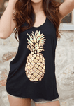 Pineapple Printed Tank