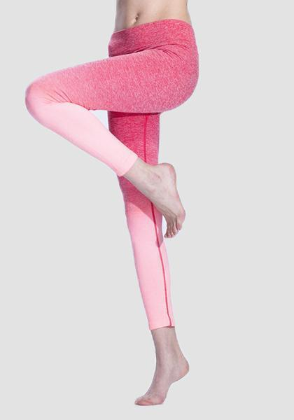 Gradiente Freeskin Workout Sports Yoga Calças Longas Leggings-2ubest.com-Pink-S-2UBest.com
