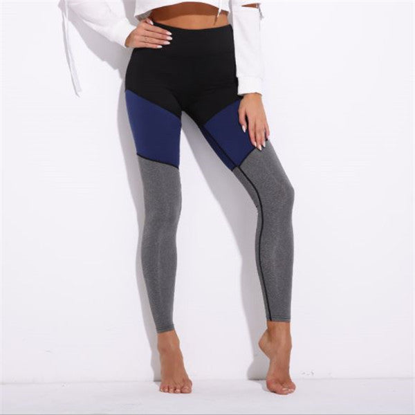 Frauen Hohe Taille Yoga Leggings Übung Workout Hosen
