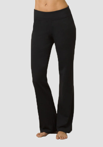 Femmes Boot Leg Yoga Pantalon-Longue Leggings-2ubest.com-Black-S-2UBest.com