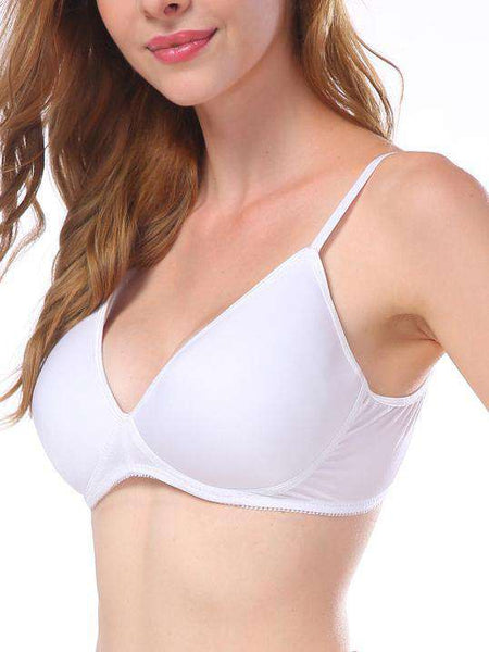 3/4 Smooth Wire Free Solid Bra