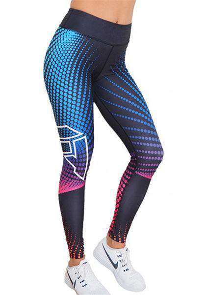 3D Printed Skinny Yoga Leggings
