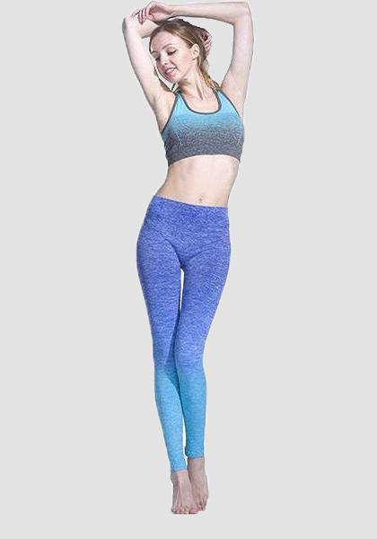 Градиент Freeskin Workout Sports Yoga Pants-Long Leggings-2ubest.com-2UBest.com