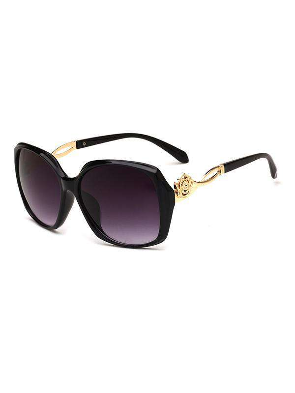 Fashion Round Shape PC Sunglasses