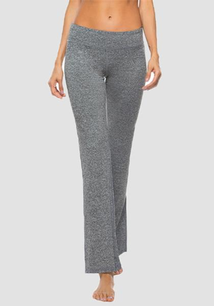 Women's Boot Leg Yoga Pant-Long Leggings-2ubest.com-Grey-S-2UBest.com