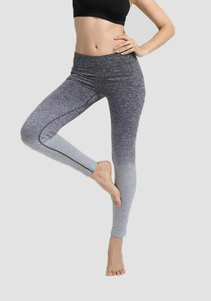 Gradiente Freeskin Workout Sports Yoga Calças Longas Leggings-2ubest.com-Grey-S-2UBest.com