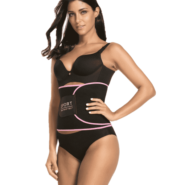 Adjustable Belly Slimming Belt Exercise Corset-New Arrival-2UBest.com-Pink-2UBest.com