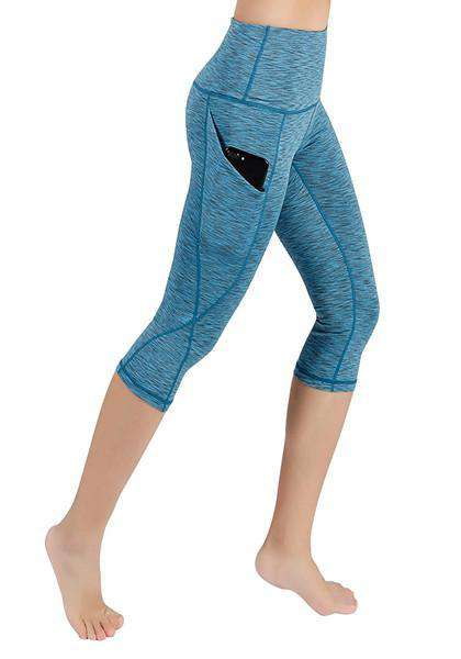 High Waist Yoga Pants With Pockets