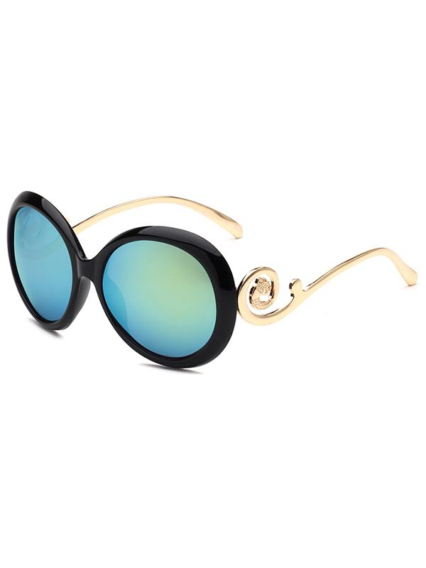 Unique Oval PC Sunglasses