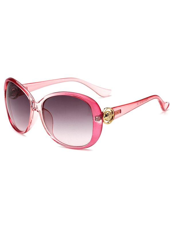 Classic Oval Shape PC Sunglasses