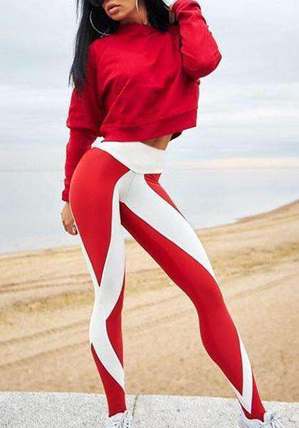Digital Printing High Waist Elastic Yoga Leggings