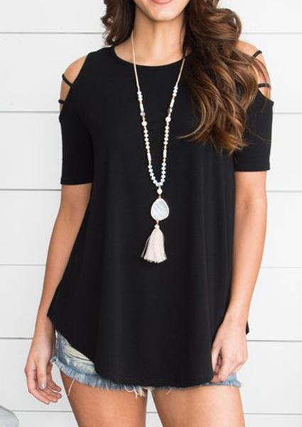 Shoulder Blouse Without Necklace