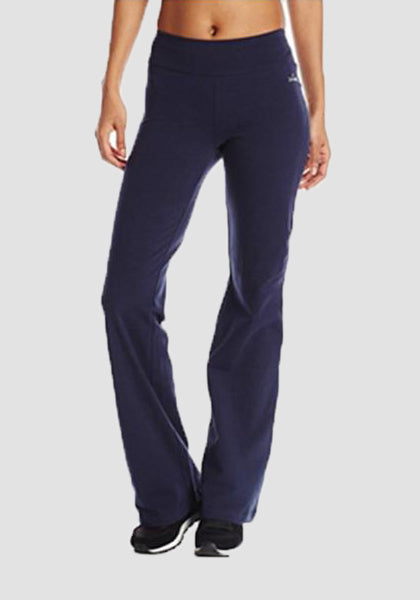 Boot Leg Women's Yoga Pant-Long Leggings --2ubest.com-Blue-S-2UBest.com