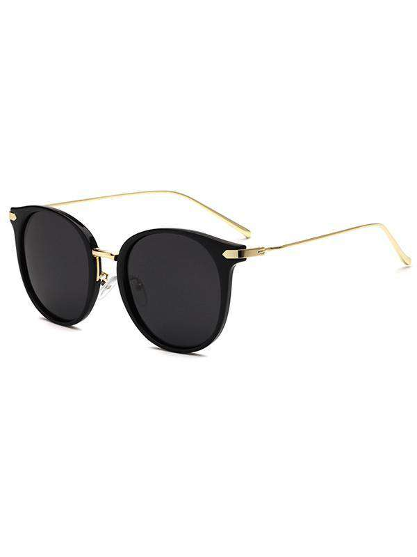 Cat Eye PC Metal Sunglasses