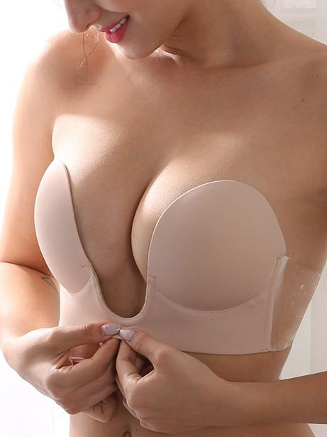 Reggiseno push up adesivo invisibile senza schienale