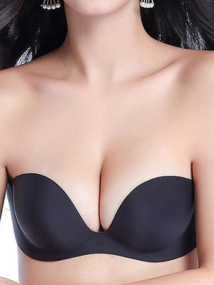 Strapless Invisible Push 섹시한 브래지어