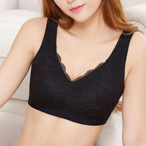 Lace Wireless Comfortable Bra