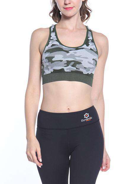 Art Printed Breathable Sports Bra