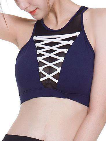 Beautiful Back Sports Bra Without Steel Ring