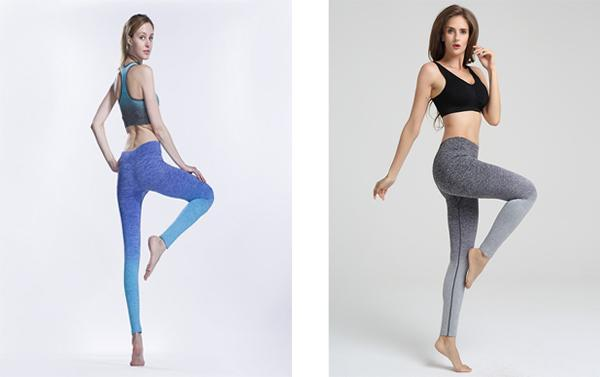 Gradiente Freeskin Workout Sports Yoga Calças Longas Leggings-2ubest.com-2UBest.com