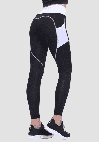 High Waist Heart Shape Booty Legging With Pocket