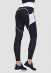 Hohe Taille Herzform Booty Legging mit Pocket-Long Leggings-2UBest.com-2UBest.com