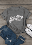 Mom Of Boys Out Numbered T-Shirt