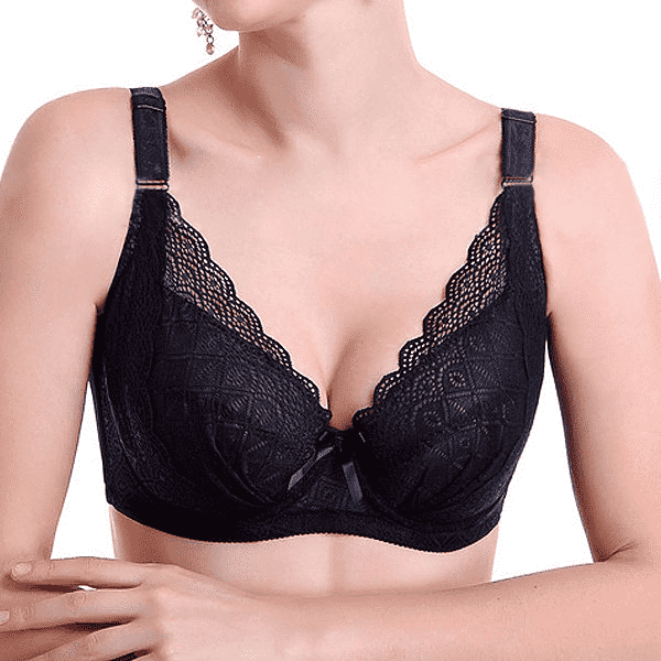 1b61d9c0a2 Plus Size Sexy Push Up Minimizer Lace Busty Bras – 2UBest.com