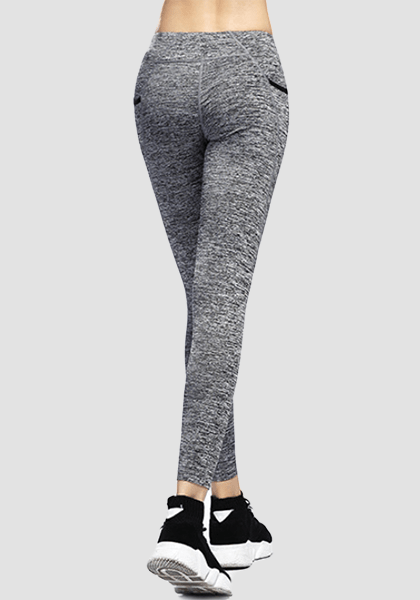 Ultra-soft Skinny Yoga Pants With Pocket-Long Leggings -2ubest.com-2UBest.com