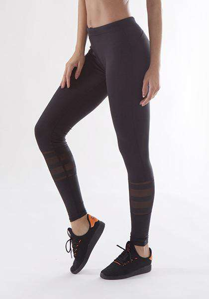 Quick-drying Mesh Patchwork Stretchy Workout Long Yoga Leggings