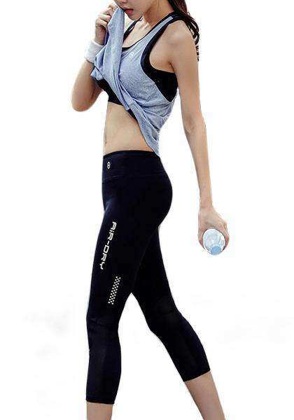 Quick-drying Workout Yoga Capris Leggings