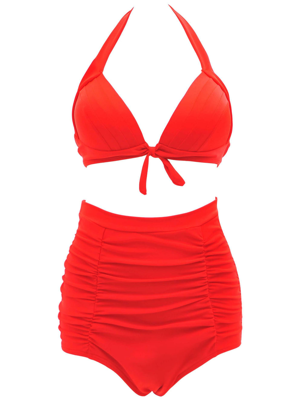 Retro Swimsuit High Waist Bikini Swimsuit