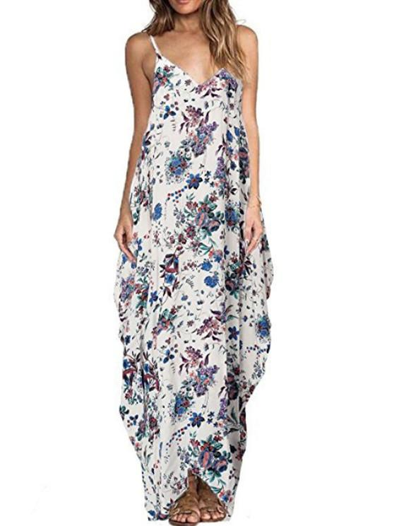 Slip Floral Printed Dress