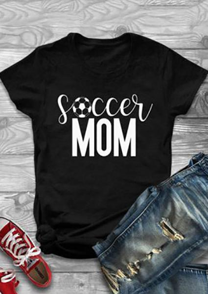 Soccer Mom Short Sleeve T-Shirt