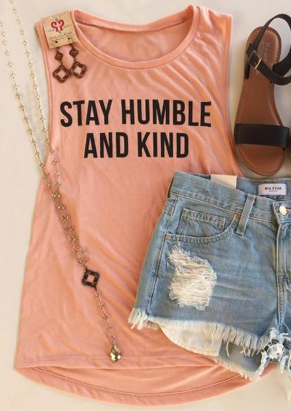 Stay Humble And Kind Tank